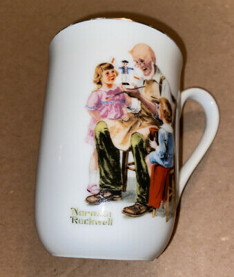 $ CDN6.58 • Buy Norman Rockwell Museum Coffee Mug Cup The Toymaker 1982