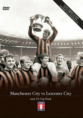 1969 FA Cup Final - Manchester City V Leicester - Sealed NEW DVD - Man City • 39.99£