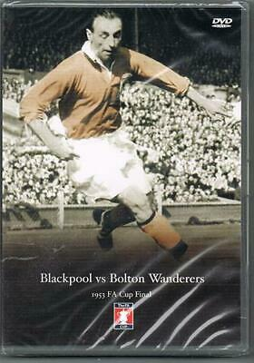 1953 FA Cup Final - Blackpool V Bolton Wanderers - Sealed NEW DVD • 39.99£