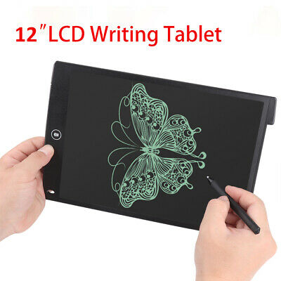 12  LCD Tablet Drawing Writing Board Kid Notepad Writer Digital Graphic Gift Set • 6.95£