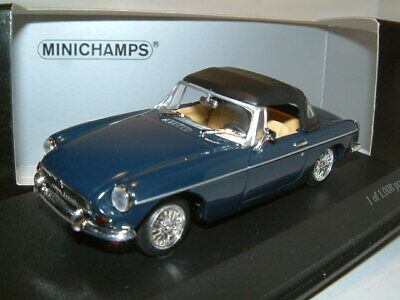 1/43 1968 Mg Mgb Roadster In Basilica Blue, Minichamps Limited Edition • 29.99£