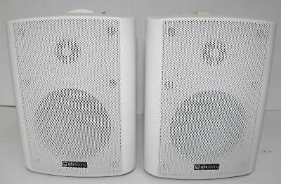 QTX SOUND BC4-W 70W Stereo Speakers With Brackets (Pair) 100.901 • 26.09£