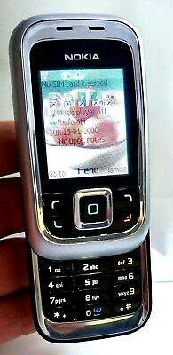 Nokia 6111 Classic Slide (Unlocked) Mobile Phone Immaculate Condition Sim Free • 35£