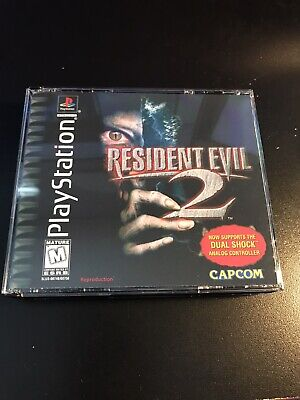 $17 • Buy Resident Evil 2 PS1 Reproduction Case NO DISC