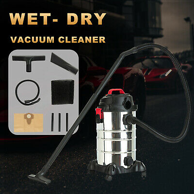 AU94.90 • Buy 2000W 30L 3.5HP 4in1 Wet Dry Vacuum Cleaner Bagless Vac Shop Home Office Blower