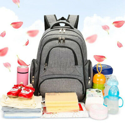 AU24.39 • Buy Luxury Multifunctional Waterproof Baby Diaper Nappy Backpack Mother Changing