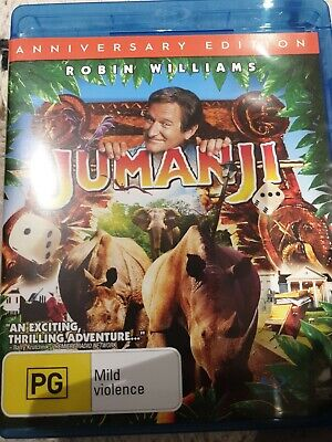 AU11 • Buy Jumanji - Anniversary Edition Blu-ray (2015) Robin Williams  FREE POSTAGE
