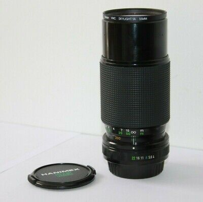 Pentax K/PK Hanimex 80-200mm F4 Telephoto Zoom Camera Lens Macro Fit ME K1000 MX • 23.99£