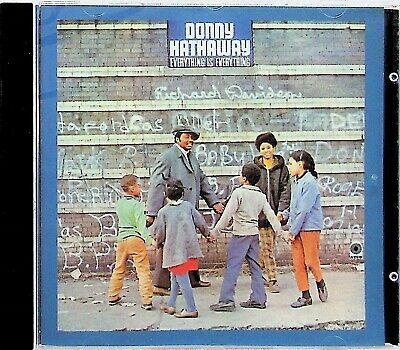 Donny Hathaway Everything Is Everything CD-NEW-1970 Soul Remaster (Bonus Track) • 4.49£