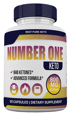 $15.99 • Buy Number One Keto Pills Advanced Weight Loss Appetite Control With GoBHB Capsules