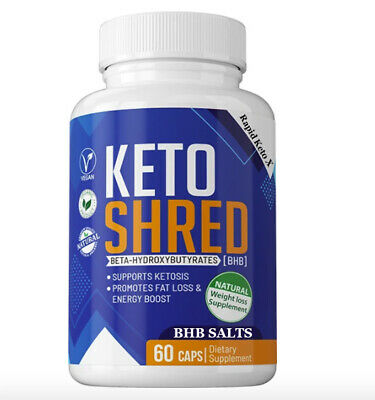 $15.99 • Buy Keto Shred Keto Pills Advanced Weight Loss Appetite Control With GoBHB Capsules