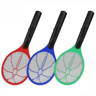 Electric Fly Insect Swatter Bug Mosquito Wasp Zapper Killer Rechargeable Battery • 9.49£