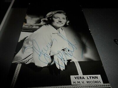 £19.99 • Buy  Autograph On 6 X 4  Photo   Signed By Vera  Lynn Forces  Sweetheart