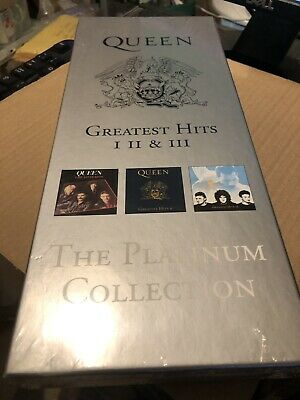 Queen Platinum Collection Rare 3cd And Video Boxset Sealed (withdrawn Rare) • 48.50£