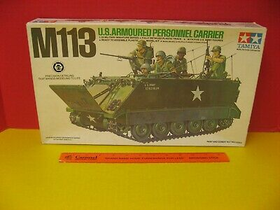$20 • Buy TAMIYA US M113 ARMOURED 11th CAVALRY BLACK HORSE REGIMENT ERA PERSONNEL CARRIER