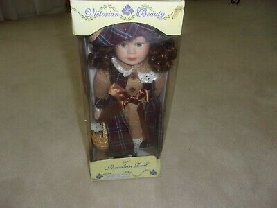 $ CDN33.33 • Buy NIB  Victorian Beauty Porcelain Doll -Limited Edition Collectible Dolls-Gifts