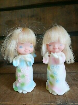 $ CDN24 • Buy Vintage Made In Japan Soft Rubber Angel Christmas Ornaments
