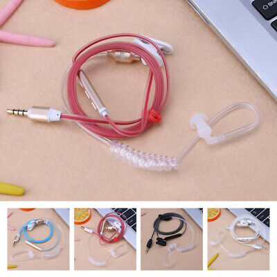 Anti Raditaion In Ear Headset Flexible Air Tube Comfortable To Wear Smart Phones • 4.66£