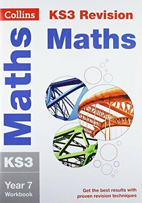 Maths Year 7: Workbook (Collins New Key Stage 3 Revision) By , NEW Book, FREE &  • 5.54£