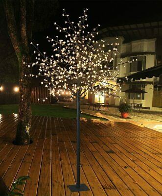 $54.95 • Buy LED Lights Warm White Flower Tree 6 Ft Indoor Outdoor Decoration Christmas Party