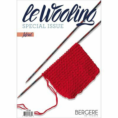5 Pack-Bergere De France Le Wooling Magazine-Special Issue Ideal -BF72680 • 26.23£