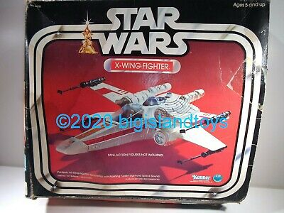 $ CDN294.94 • Buy Star Wars Vintage ANH 1978 X-Wing Fighter Vehicle Complete W/ Original Box & Ins