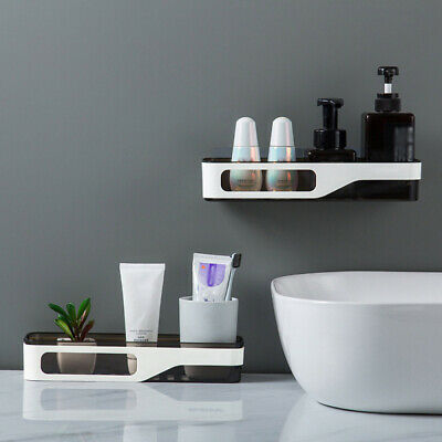 AU19.99 • Buy Rectangle Shower Caddy Shelf Bathroom Corner Rack Storage Bath Holder Organizer