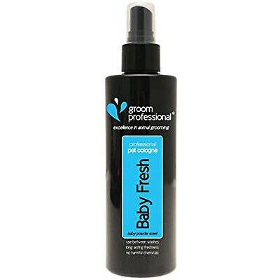 Groom Professional Baby Fresh Pet Cologne, Contains Camomile, Dogs Spray, 200ml • 9.95£