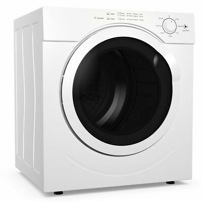 View Details 27lbs Electric Tumble Compact Laundry Dryer Stainless Steel 3.21 Cu. Ft. • 359.99$