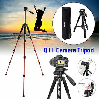 £9.79 • Buy ZOMEI Q111 Professional Portable Travel Camera Tripod For Camcorder DSLR Phone