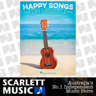 AU31.95 • Buy Happy Songs For Ukulele (Softcover Book)