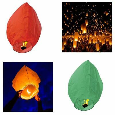 Chinese Sky Fly Fire Lantern Kongming Lantern Wish Flying Handmade Floating • 4.99£