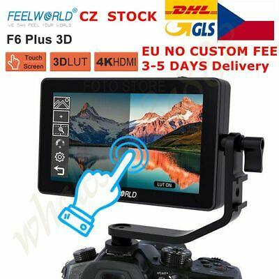 AU209.55 • Buy UK FEELWORLD F6 PLUS 5.5 Inch 3D LUT Touch Screen 1920x1080 Camera Field Monitor