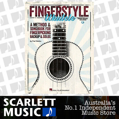 AU40.95 • Buy Fingerstyle Ukulele Book/Online Audio (Softcover Book/Online Audio)