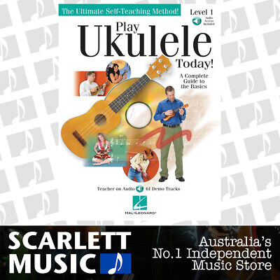 AU26.95 • Buy Play Ukulele Today Book/Online Audio Lel 1 (Softcover Book/Online Audio)