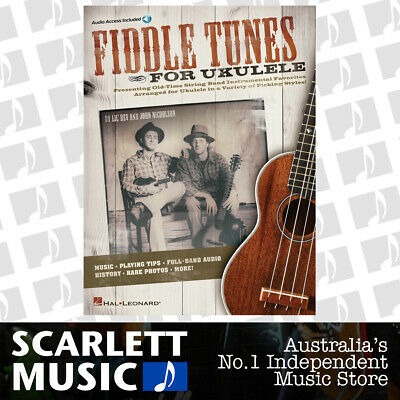 AU40.95 • Buy Fiddle Tunes For Ukulele Book/Online Audio (Softcover Book/Online Audio)