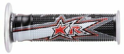 $22.11 • Buy Ariete 02632-FRBN Harri S Evo Grips Perforated Black | Gray | Red 02632-FRBN