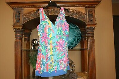$82.99 • Buy LILLY PULITZER Donna Romper EASY TIGER Print NWOT Womens Size 6