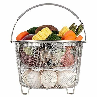 $21.99 • Buy Aozita Steamer Basket For Instant Pot Accessories 6 Qt Or 8 Quarts 2 Tier New