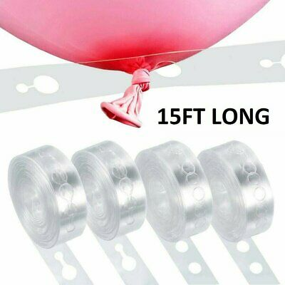 $2.95 • Buy 5m Balloon Chain Tape Arch Connect Strip For Wedding Birthday Party Decoration