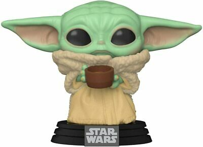 $14.99 • Buy Funko Pop Baby Yoda Mandalorian The Child With Cup 49933 In Stock Now