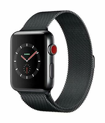 $ CDN1398.56 • Buy Apple Watch Series 3 (GPS + Cellular Model) - 42mm Space Black Stainless Steel C