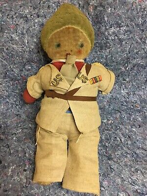 $49.99 • Buy Unusual Cloth Doll With Homemade Military Uniform - WWII?