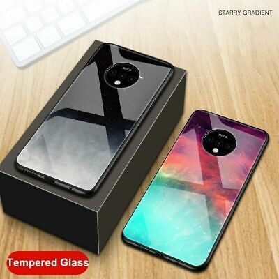 $ CDN9.56 • Buy For OnePlus 7T 7T Pro Cover 9H Tempered Glass Luxury Colorful Phone Case