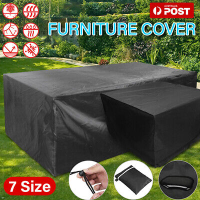 AU19.29 • Buy Furniture Cover UV IN/Outdoor Garden Patio Table Shelter Chair Sofa Waterproof