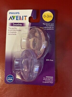 AU6.38 • Buy Philips Avent Soothie Pacifier 0-3 Months Scf190
