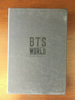 $20 • Buy BTS World OST Album Lenticular Card + Poster + Jimin PJ Card + Taehyung Card