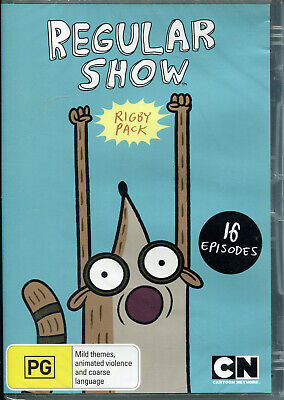 Regular Show Rigby Pack DVD NEW Region 4 • 9.89£