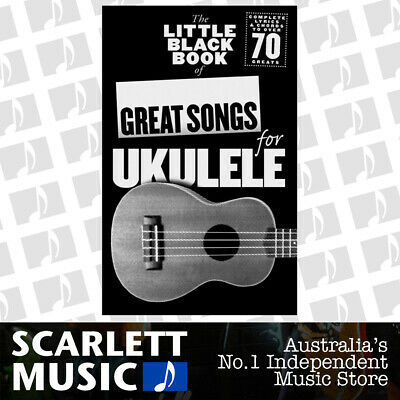 AU32.95 • Buy Little Black Book Of Great Songs For Ukulele (Softcover Book)
