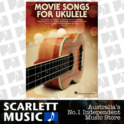 AU35.95 • Buy Movie Songs For Ukulele (Softcover Book)